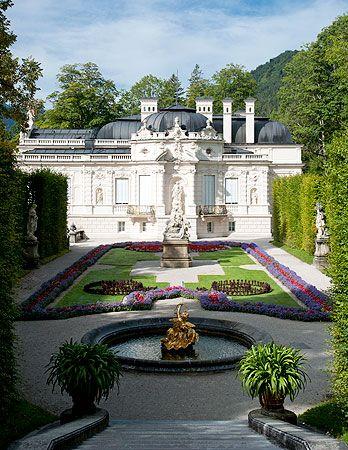 Bayerische Schlosserverwaltung Schlossanlage Linderhof Park Rundgang Schlosser In Bayern Burgen Und Schlosser Linderhof