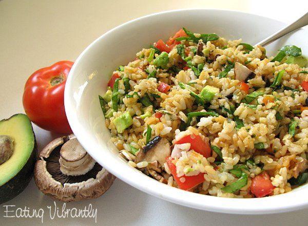 High raw rice salad recipe eating vibrantly vegetarian recipes high raw rice salad recipe eating vibrantly forumfinder Image collections