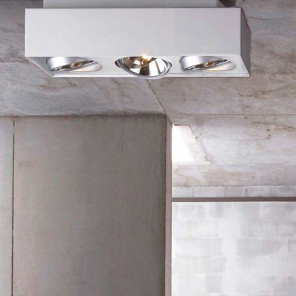 philips lirio bloq deckenleuchte 3 flammig lampen. Black Bedroom Furniture Sets. Home Design Ideas