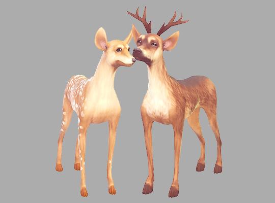 Deer Antlers By Kismetsims Mit Bildern Sims Mods Haustiere Sims 4