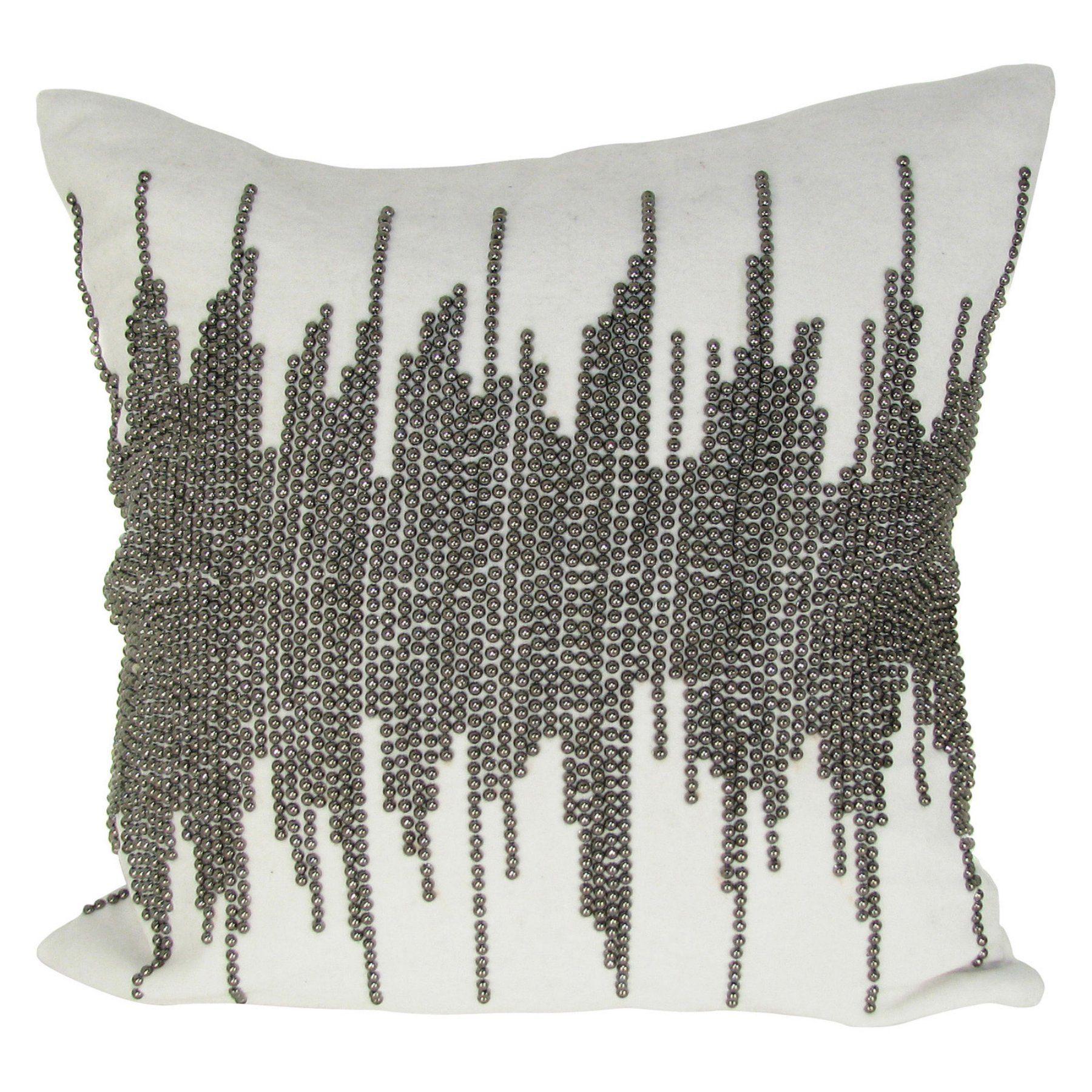 design accents shore velvet pillow  l x w in  kss  - design accents shore velvet pillow  l x w in  kss
