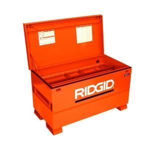 Tool Box Jobsite STEEL JOB SITE Portable Lockable Locking Lid Case Storage