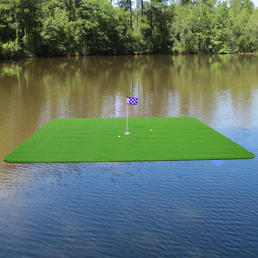 14' x 14' Pond Series Backyard putting green, Golf