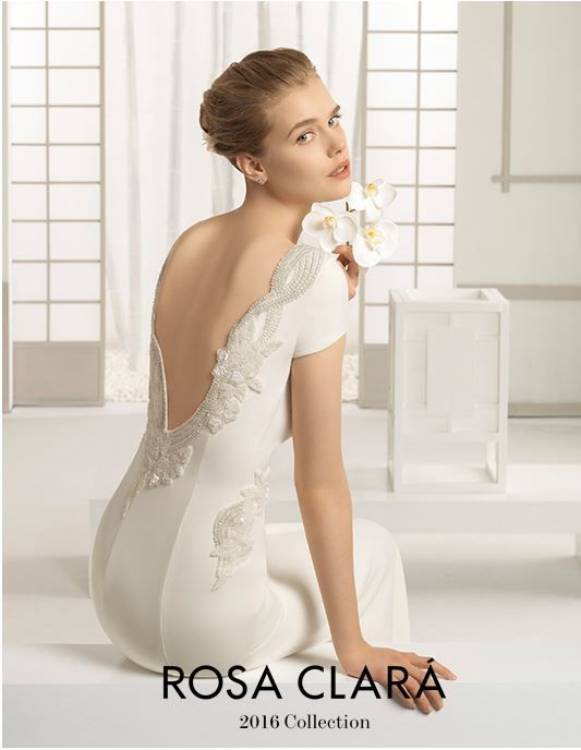 c03d11083 Vestidos de Novia Elegantes con Estilo y Distincion  Rosa Clara Novias 2016