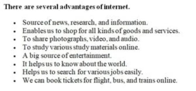 تعبير عن الانترنت بالانجليزي قصير ومترجم 9 نماذج سهلة وبسيطة هات Goods And Services Study Materials Entertaining