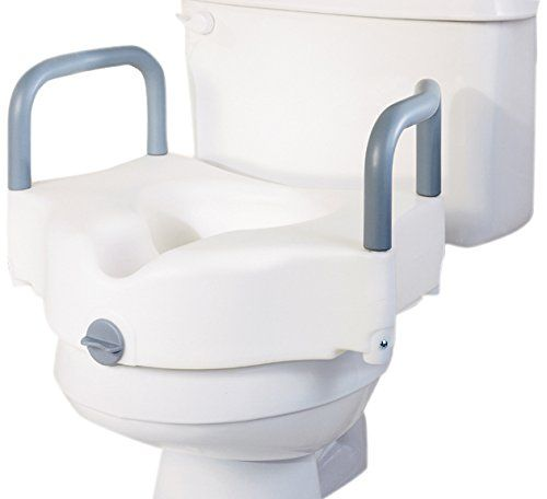 Medline G30270ah Locking Raised Toilet Seats With Arms Locate