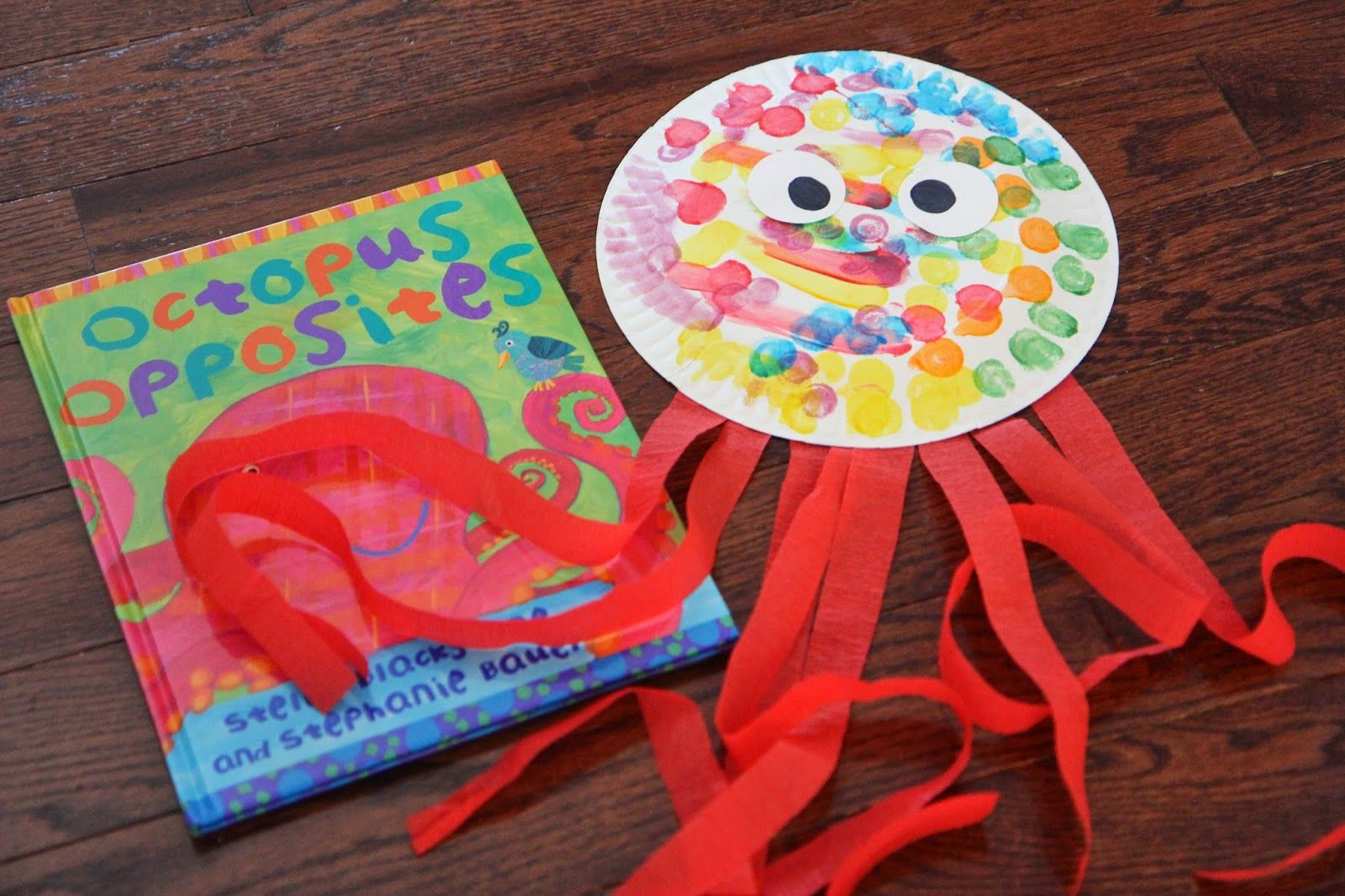 Paper plate octopus craft octopus crafts craft and for Octopus craft for preschool