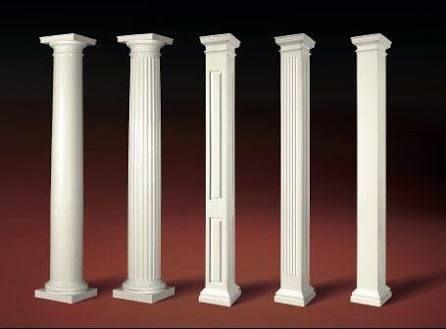 Columnas Decorativas Modernas Buscar Con Google House With Porch Front Porch Design Architectural Columns