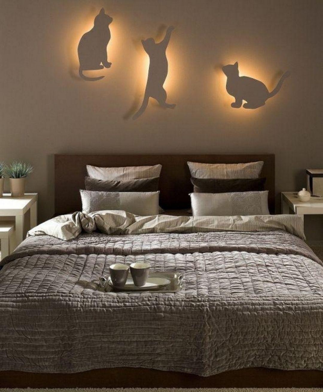 Wonderful 30 Diy Creative Bedroom Lighting Ideas For The Home