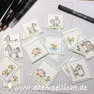 Memory Spiel Für Kinder Ganz Einfach Selbst Gemacht Mit