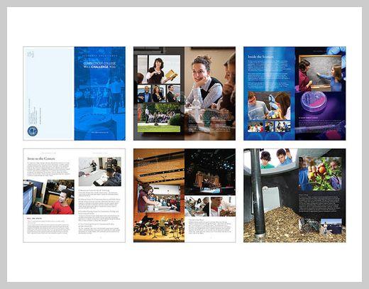 Ct College Brochure   Anniversary    Brochures