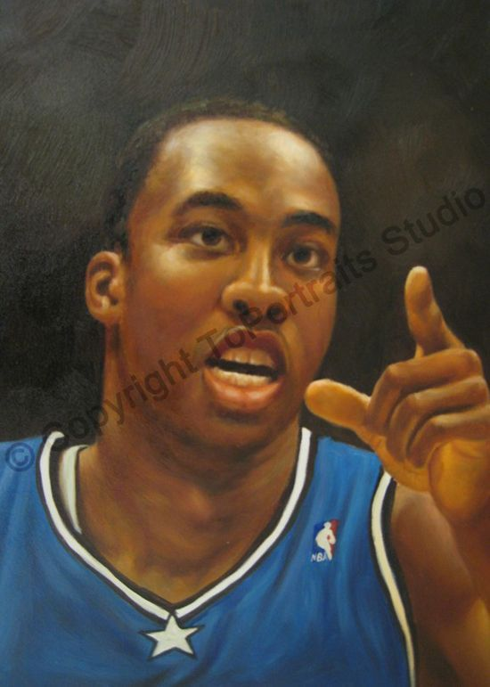 dwight howard painting - Google Search