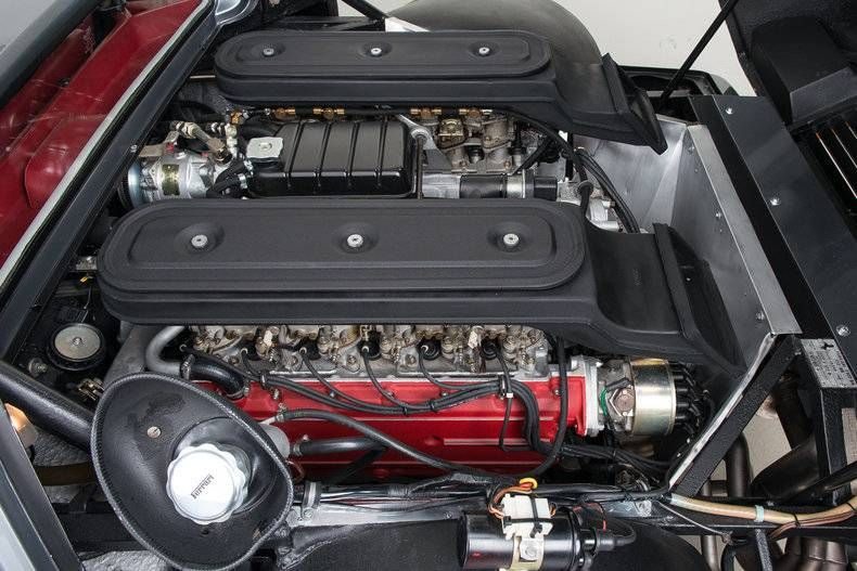 1981 Ferrari 512 BB Berlinetta Boxer (Engine Detail)