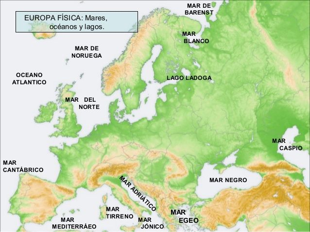 mapa FISICO EUROPA  Busca de Google  MAPAS  Pinterest  Mapas