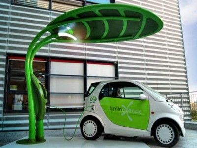 Solar Leaf Energy Charger Electric Car Have You Ever Thought Of Designing A Sustainable