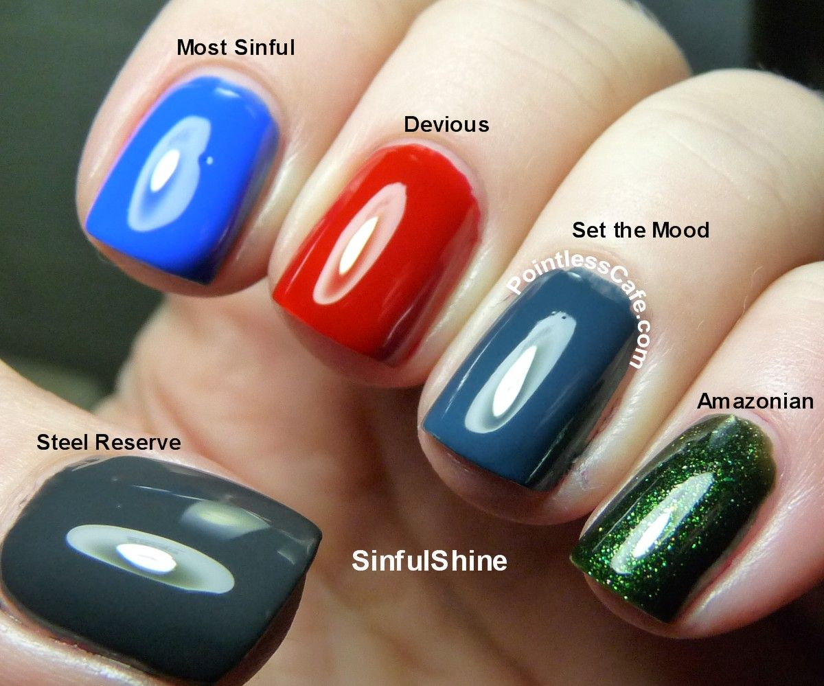 Sinfulshine With Gel Tech Swatches Pointless Cafe Nail Polish Colors Nail Polish Nail Polish Addict