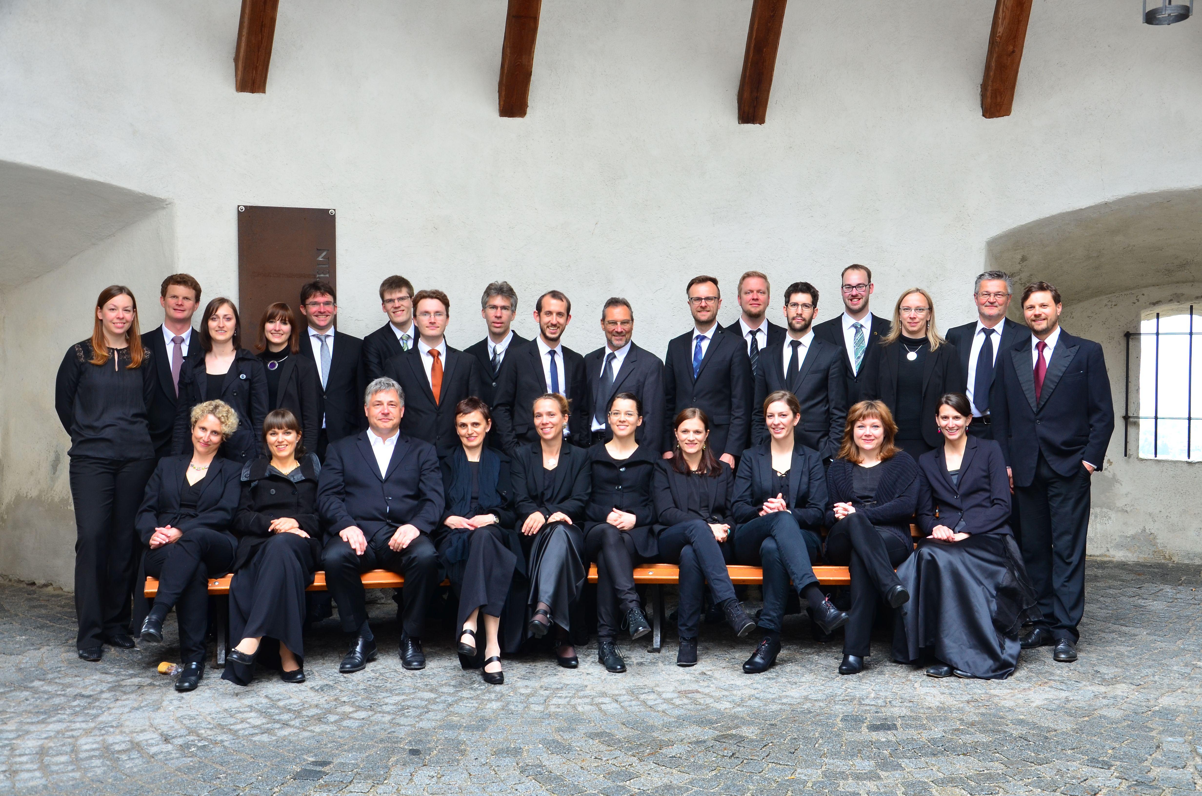 Das Vokalensemble Vocappella Innsbruck ist ebenfalls an der Markus-Passion von TELEMANN beteiligt. (c) zVg