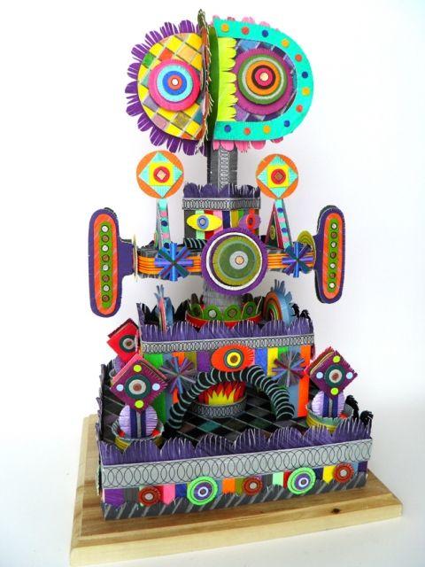Power Seeker | MICHAEL VELLIQUETTE Paper, acrylic, drawing media