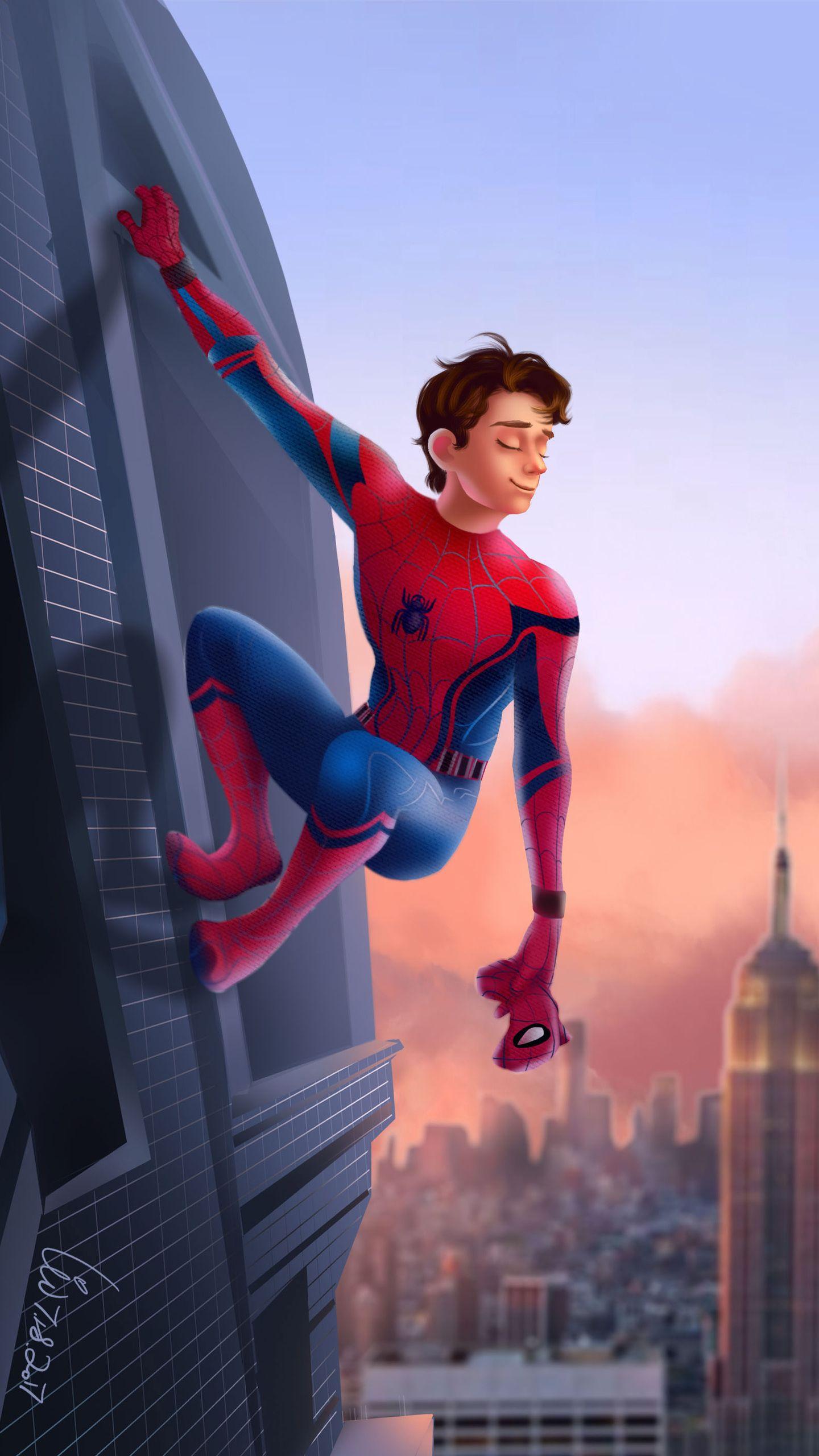 Tom Holland spiderman wallpaper lockscreen Tom holland