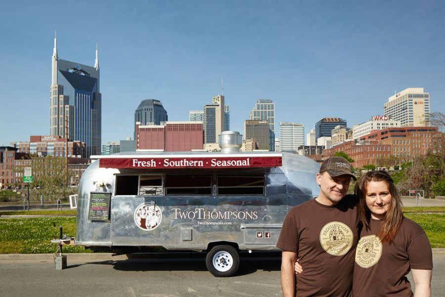 Two Thompsons Catering NFTA Nashville Food Truck