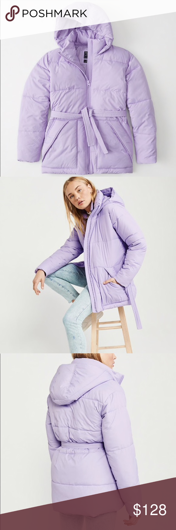 Abercrombie Fitch Lilac Belted Puffer Jacket Nwt Adorable Stylish And Warm Abercrombie Fitch Lilac P Fashion Clothes Design Abercrombie And Fitch Jackets [ 1740 x 580 Pixel ]