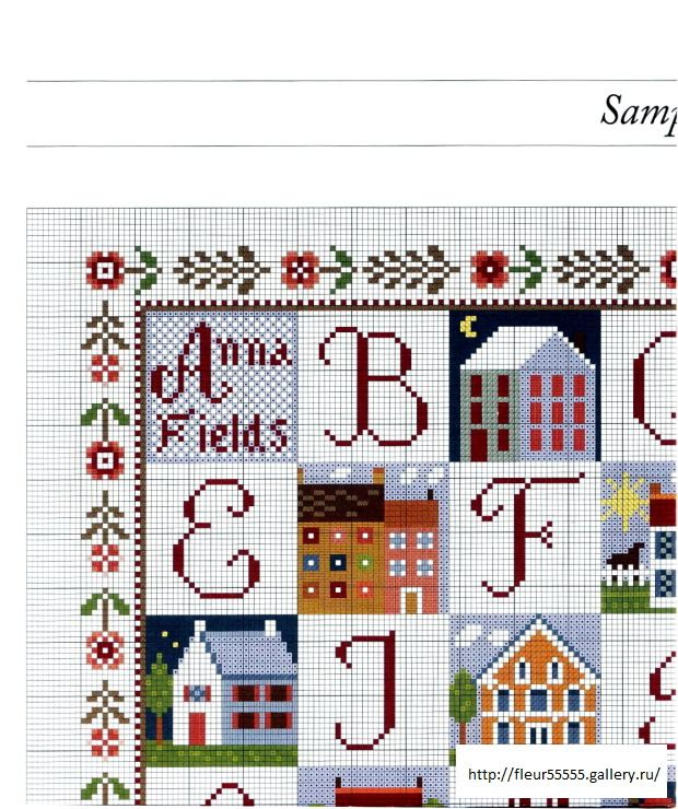 Colorful alphabet chart1