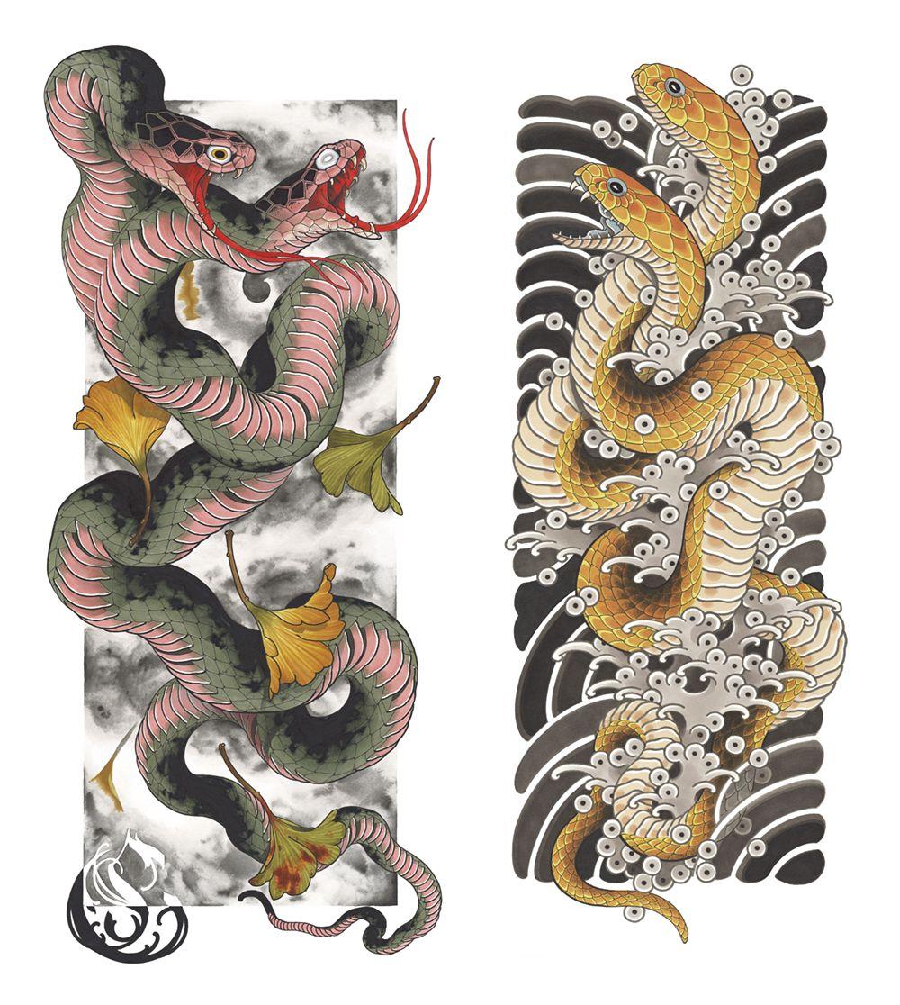 Yakuza Traditional Japanese Dragon Tattoo