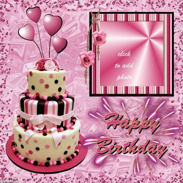 Resultado de imagen para personalized happy birthday picture frame - birthday greetings template