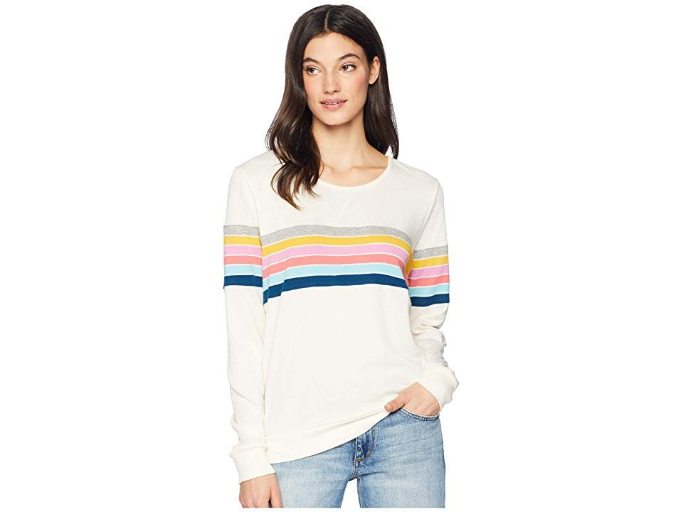 Rip Curl Paradiso Crew Vanilla Womens Clothing Enjoy the simple moments in the stylish Rip Curl Paradiso Crew sweater Crew sweater in a soft fleece fabrication flaunts a...