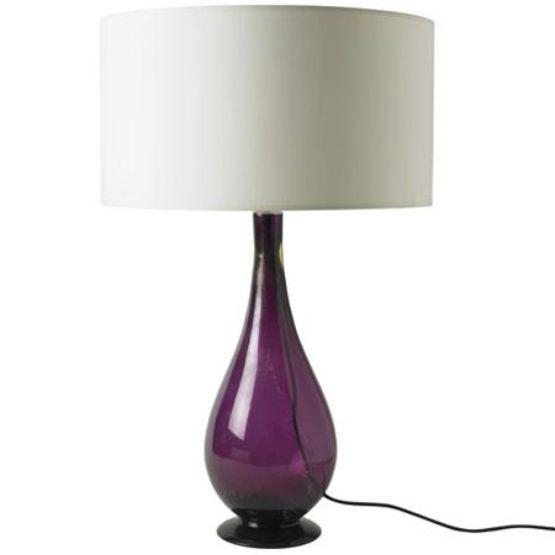 Http://warisanlighting.com/wp Content/uploads/parser/purple Glass Lamps 2  | Purple Furniture U0026 Decor | Pinterest | Table Lamp Base, Lamp Bases And  Plum ...