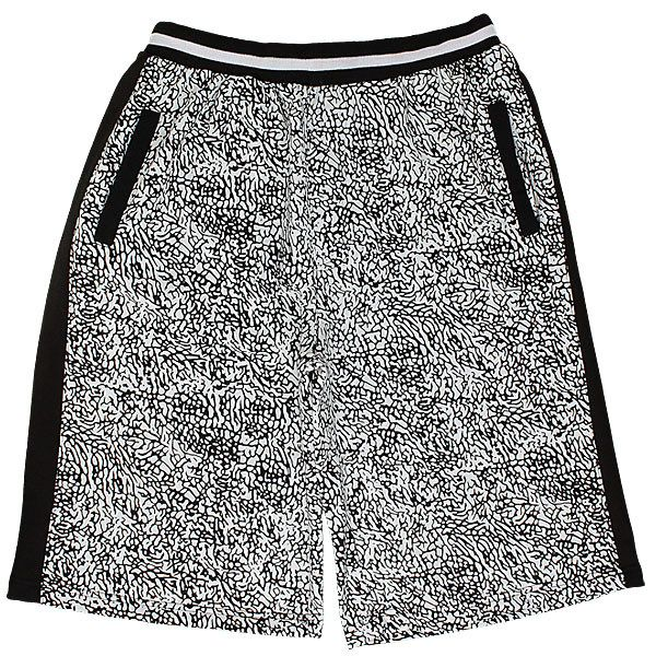 The Elephant Print Fleece Shorts - Black By Buyers Choice New Era Caps 3472fd2513c8