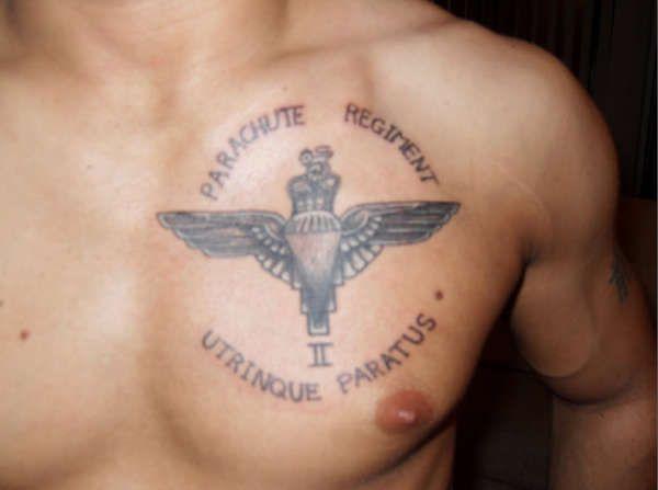 Parachute Regiment Tattoo Uktv Pinterest Parachute