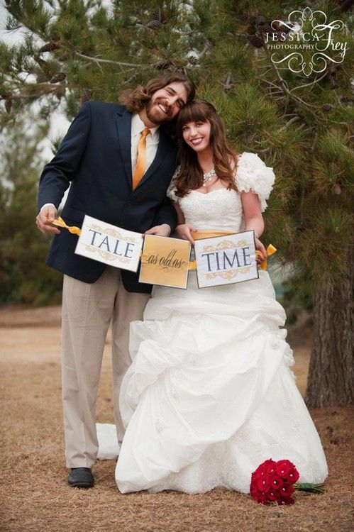 Tale As Old As Time Banner Photo.