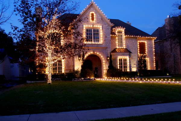 Outdoor Home Lighting Extraordinary The Best 40 Outdoor Christmas Lighting Ideas That Will Leave You 2018