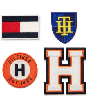 Tommy Hilfiger Iron On Patches Orange | Iron on patches
