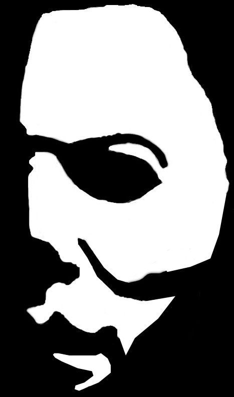 halloween michael myers decal halloween movie by. Black Bedroom Furniture Sets. Home Design Ideas