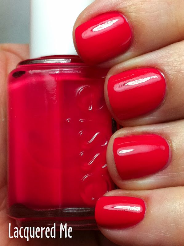 Essie Canyon Coral | Nails | Pinterest