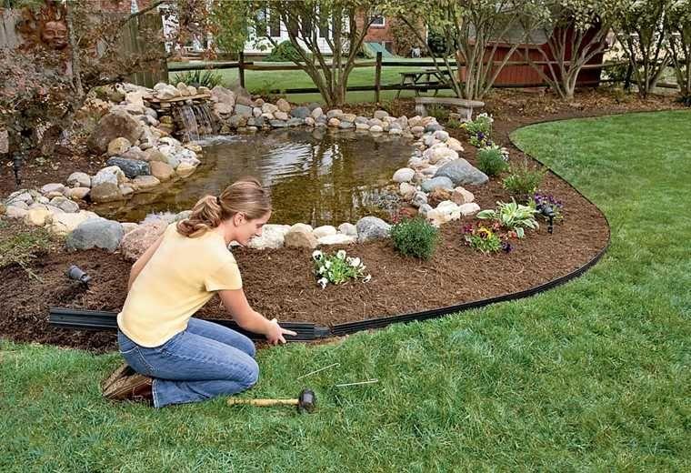 Idée bordure jardin : 50 propositions pour votre extérieur   jardin ...