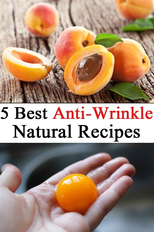5 Best Anti-Wrinkle Natural Recipes
