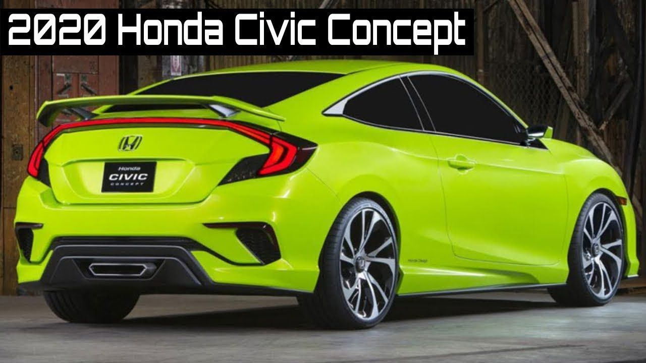 2020 Honda Civic Concept In 2020 Honda Civic Honda Civic Coupe Honda Civic Hatchback