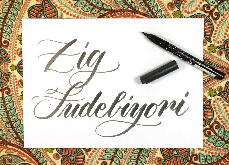 Six Amazing Brush Pens For Beginners
