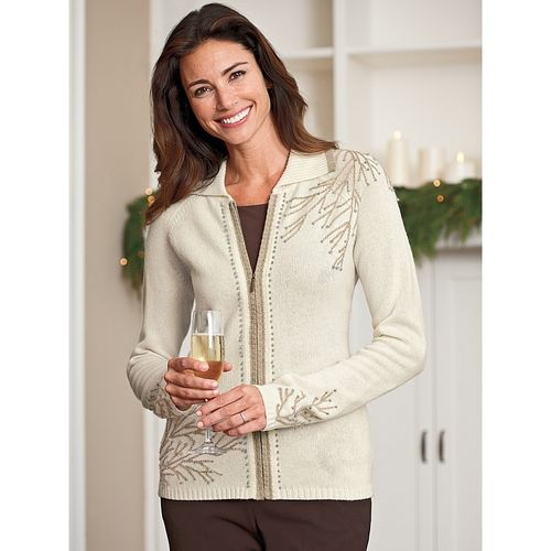 Women's Winter Branch Cardigan from Norm Thompson on shop.CatalogSpree.com, your personal digital mall.
