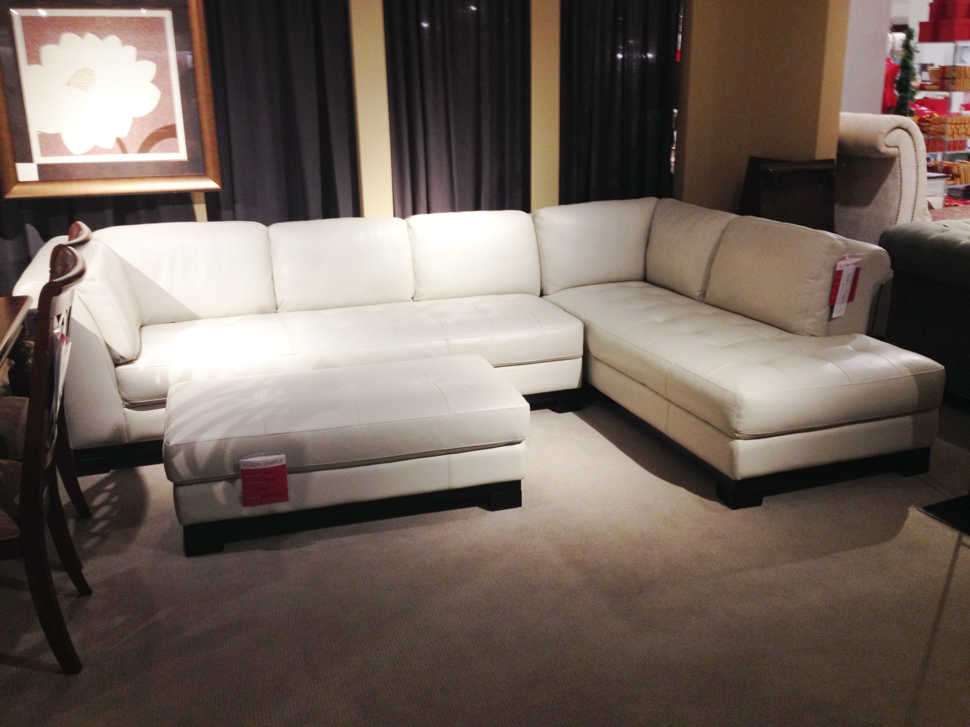 White Leather Sectional Sofa Macy S Sectional Sofa Leather Sectional Sofas Leather Sectional Sofa