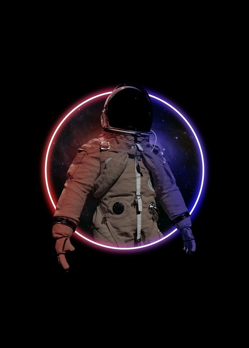 Circle Fantasy Astronaut