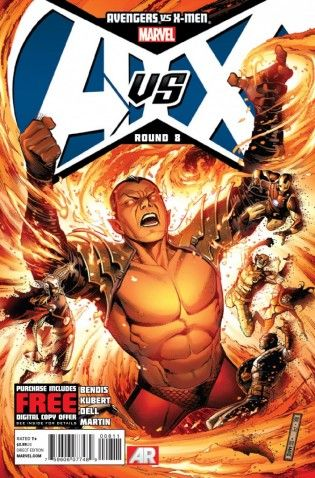 Comics Review Avengers Vs X Men 8 Marvel Comics Superhero Comic Free Marvel Comics