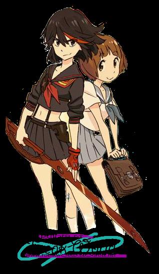 Render Ryuko Matoi And Mako Mankanshoku By Izumi Sen Kill