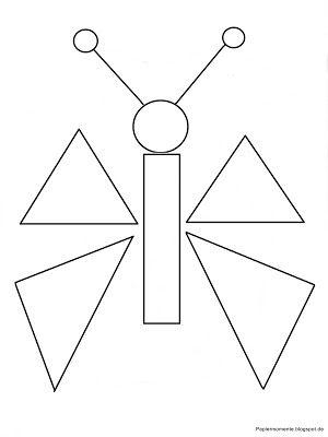 .: geometrische formen - ausmalbilder für kinder   geometrisch, kindergarten formen, ausmalen