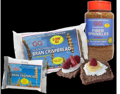 Gg Bran Crispbread Snacks High Fiber Snacks Fiber Snacks