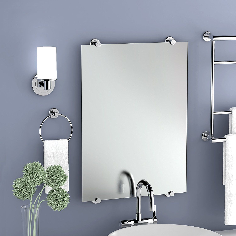 gatco bathroom accessories. AmazonSmile: Gatco 1561 Latitude II Minimalist Mirror, Chrome: Home \u0026 Kitchen Bathroom Accessories