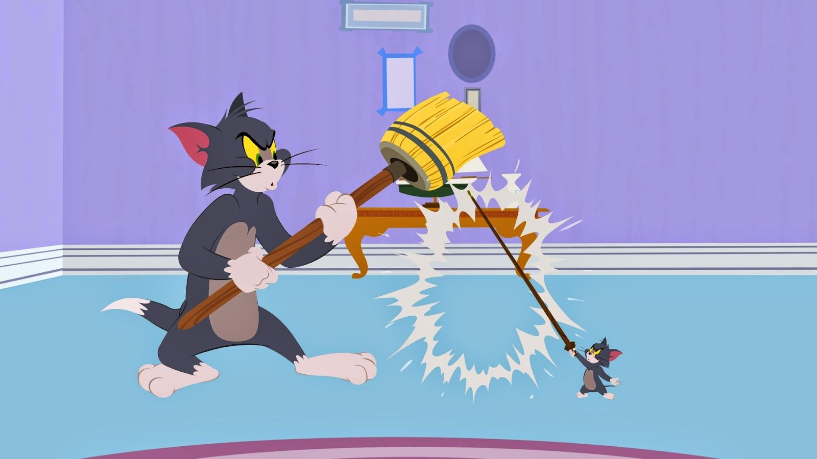 One Momma Saving Money The Tom And Jerry Show Season 1 Part 2 Tom And Jerry Show Tom And Jerry Cartoon New Tom And Jerry